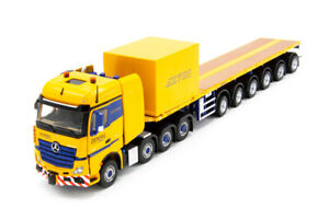 Mercedes-Benz Actros AC700-9 Support Combination - IMC 1:50 Scale #33-0124 New!
