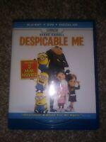 Despicable Me (Blu-ray/DVD, 2013, 2-Disc Set, Includes Digital Copy UltraViolet)
