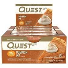 Quest Nutrition Pumpkin Pie Protein Bar - 12 Count