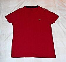 "TRUE RELIGION T-SHIRT CREW NECK -BRIGHT RED&WHITE LOGO - SIZE MEDIUM (40"" CHEST)"