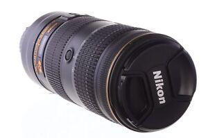 Nikon 70-200mm f2.8 AF-S E FL ED VR, superb! 6 month guarantee