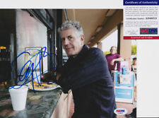 Anthony Bourdain Chef Parts Unknown Signed Autograph 8x10 Photo PSA/DNA COA #10