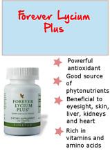 Forever LYCIUM Plus 100 tabl. Eyesight,Powerful antioxidant Kosher/Halal