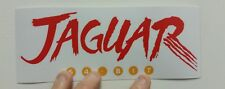 Atari Jaguar Logo sticker. 3 x 8. (Buy 3 stickers, Get One Free!)
