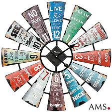 AMS 50 XXL cuarzo de Reloj pared carcasa Metal oficina Ø 70cm / 202