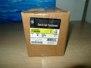 GENERAL ELECTRIC 9T58R0048 CORE & COIL TRANSFORMER 60Hz NEW