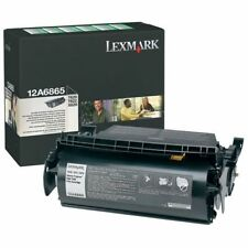 New Factory Sealed Genuine Lexmark  12A6865 Laser Cartridge New Box Style
