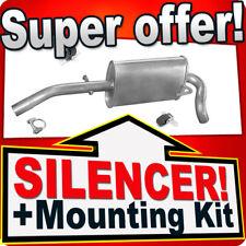Rear Silencer SEAT AROSA VW LUPO 1.0 37KW 1.4 44KW 1997-2005 Exhaust Box NNL