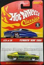 Hot Wheels Classics Series 2 Plymouth HEMI Cuda Antifreeze