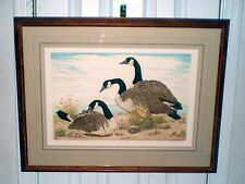 Maxima Canada Geese by Dorothy Lundquist #89 of 250 COA signed fine art piece