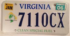 CLEAN FUEL Electric Car EV license plate Prius Solar Tesla Leaf Soul i3 Bolt VW