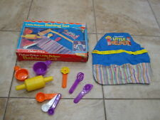 Fisher Price 1985 Little Helper Baking Set #2001 in Original Box