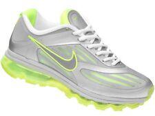 2011 Nike Air Max Ultra 360 SZ 9.5 Metallic Silver Neon Volt OG QS 454346-005
