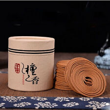 48pcs Traditional Sandalwood Incense Coils with holder for sale