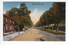 Buxton Road Leek Stafford 1907 Valentines 59680 Old Postcard Postally Unused