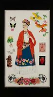 Mexican Fabric folkloric Frida Khalo 5 de Mayo coco Fiesta Day of the Dead