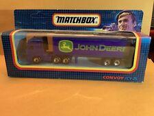 "Matchbox Convoy CY-25 DAF Box Truck ""John Deere"". See Description"