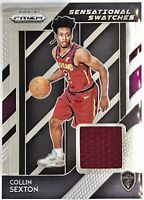 2018-19 PANINI PRIZM Collin Sexton Silver Foil ROOKIE RC JERSEY PATCH SP Cavs🔥