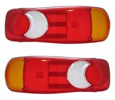 Renault Master - Vauxhall Movano Rear Back Tail Light Lens Only Pair