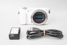 Sony Alpha a NEX-3N 16.1MP Mirrorless Digital Camera Body Only, NEX3, White