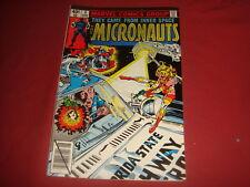 THE MICRONAUTS #6 Marvel Comics 1979 FN