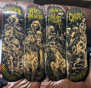 Anti Hero Four Horsemen Skateboards full series 4 decks - NOS - RARE!