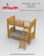 1/35 Scale Bunk Bed model kit