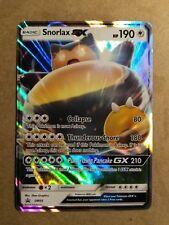 Snorlax GX SM05 REGULAR SIZE Black Star Promos - Ultra Rare NM Pokemon