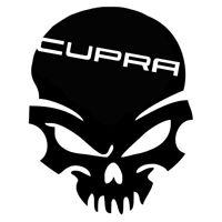 Calavera seat cupra Tuning sticker, auto Fun pegatinas, sticker-Bomb