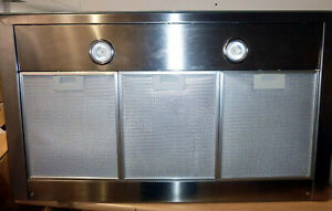 Elica CLAIRE 90cm Touch Control Low Profile Cooker Hood - Stainless Steel