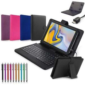 For LG G Pad F2 8.0 / G PAD X2 8.0 Plus Tablet Leather Keyboard Stand Case Cover