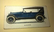 1924 HUDSON SUPER  SIX - Imperial Tobacco Co. CANADA Cigarette Card RARE