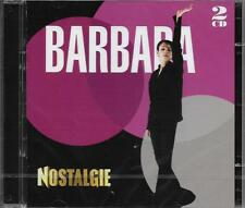 DOUBLE CD 34 TITRES BARBARA BEST OF 2014 NEUF SCELLE NOSTALGIE