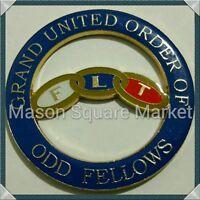 Grand United Order of Odd Fellows Cut-Out Car Emblem