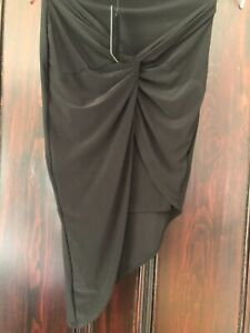 Jane Norman Knotted Pencil Skirt Size 10 BNWT Fast Free Postage