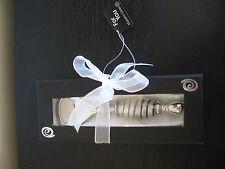 Murano Art Glass Black Silver Bottle Opener NIB