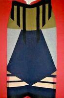 Stunning $345 JONATHAN SIMKHAI Hex Knit Colorblock Deco Stretch Pencil Skirt-XS