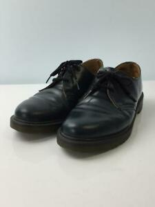 Dr.Martens 10078 Uk7 Leather 3 Hall Dress Lace-Up Navy Fashion boots