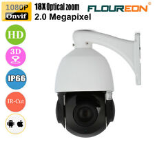 FLOUREON 1080P 4.7-84.6mm 18X ZOOM CCTV IR-CUT PTZ Dome IP Kamera