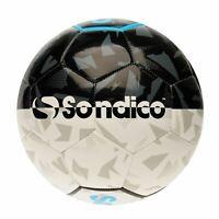 Neuf All Weather Sondico Taille 5 Ball Blanc Football dégonflé