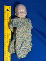 "Antique Early Marked Germany Porcelain Jointed Baby Doll 8.5"" Toy VTG Rare"