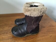 girls clarks boots size 7 G Very Good Condition