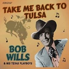 BOB WILLS & HIS TEXAS PLAYBOYS - TAKE ME BACK TO TULSA 4 CD NEW+