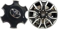 "4260B-04090  / 2020 Toyota Tacoma 16""  Black Wheel Center Cap Genuine"