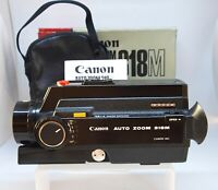 Canon Auto Zoom 318M 8mm Cine Film Movie Camera - Tested & Working #S8-2022