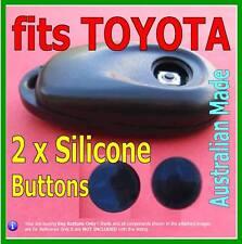 fits TOYOTA VIENTA GRANDE remote key - Round Repair key BUTTONS (2 sets)