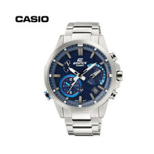 Casio EQB-700 Mens Ediface Steel w/ Blue Dial Accurate Time System Smart Watch