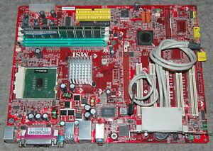 MSI KT6 Delta-LSR MS-6590 Socket A MB+CPU+RAM+USB header FULL WORK