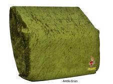 Überwurf / Staubschutzhülle für Akkordeon, 72/80 Bass in Antik-Grün