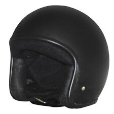 M2R 225 Vice open face cruiser helmet matt black no studs size XXL 2XL